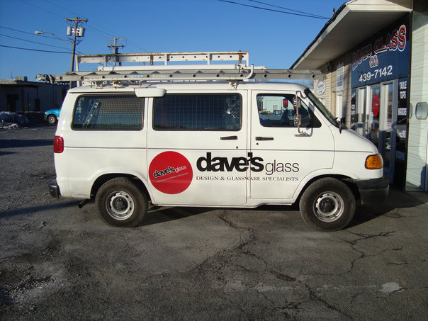 Dave's Glass Co. - Glass Repair Truck