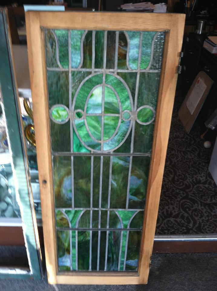 Dave's Glass Co. - Green Stained Glass